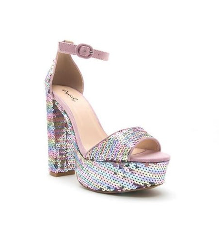 Kassidy Sequin Heel *FINAL SALE*