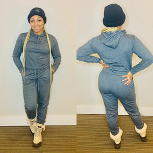 Everyday Sweatsuit (Charcoal Grey)