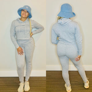 Everyday Sweatsuit (Heather Grey)