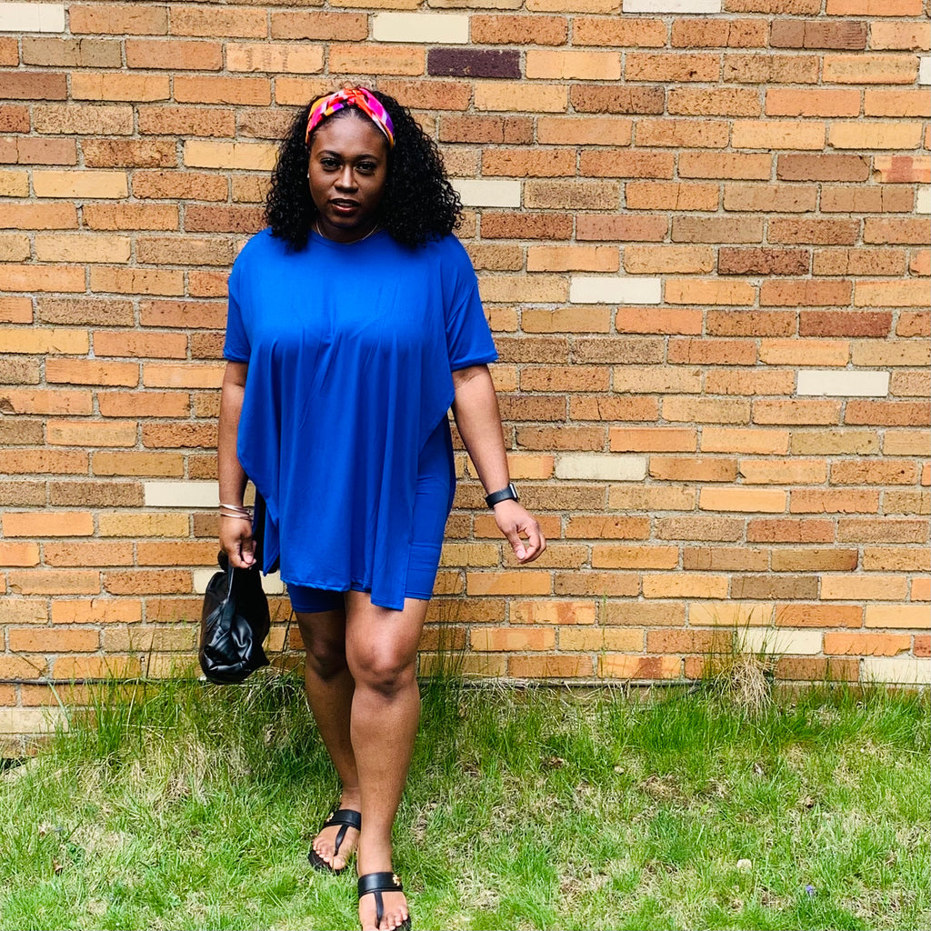 Essence Short Set (Royal Blue)