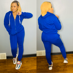 Classic Sweatsuit (Royal Blue)