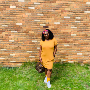 Essential Midi Dress (Mango)