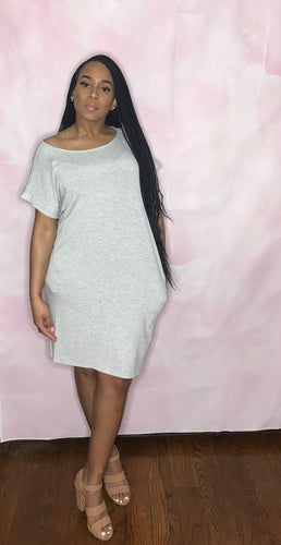 Essential Midi Dress (H Grey)