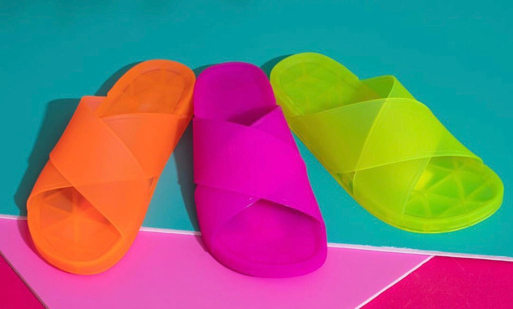 Highlight Neon Sandal - Pretty and Proper Boutique
