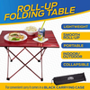 Outrav Portable Picnic and Camping Table – Drawstring Carrying Case