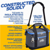 Outrav Blue Insulated Cooler bag - Handles and Removable Shoulder Strap