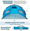 Outrav Pop Up Beach Tent - Quick and Easy Set Up, Family Size
