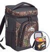 Outrav Camo Backpack Cooler Bag with Bottle Opener – Padded Back and Shoulder Strap