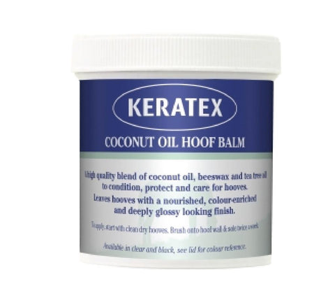 Keratex Coconut Hoof Oil Balm Clear on Equimeds