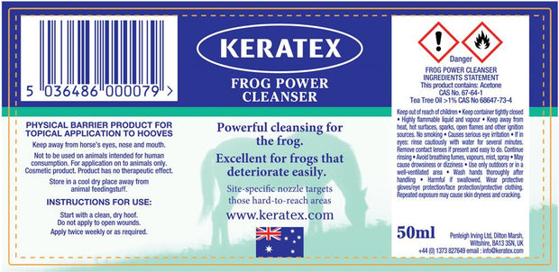 Keratex Frog Disinfectant Power