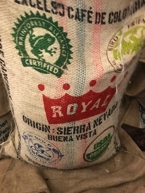 Organic Whole Bean Colombian Coffee - Sierra Nevada Finca Buena Vista