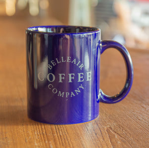 Blue Porcelain Coffee Mug