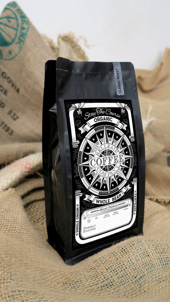 1 lb. Bag - Organic Whole Bean Honduran Coffee, San Vicente - RFA Fair Trade