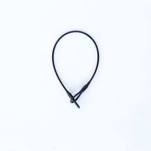 "8"" Black Loop Lanyard (New)"