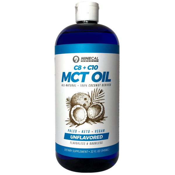 C8 + C10 - MCT Oil 100% Coconut Derived