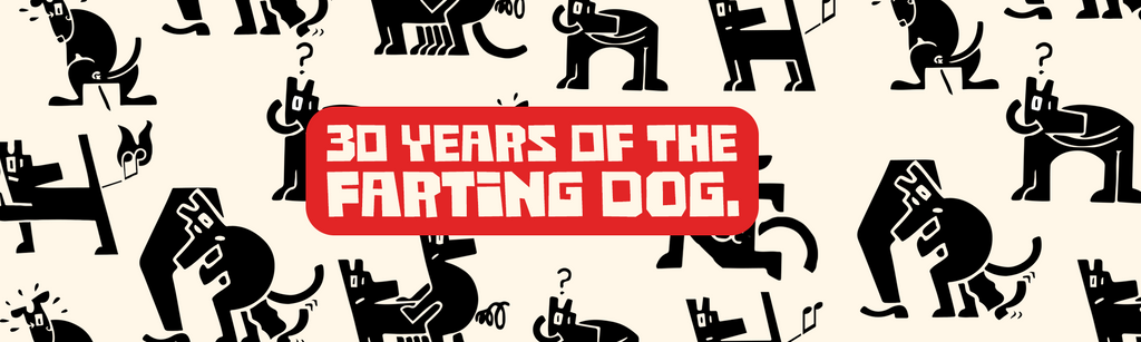 NEW COLLECTION: 30 Years of the Farting Dog