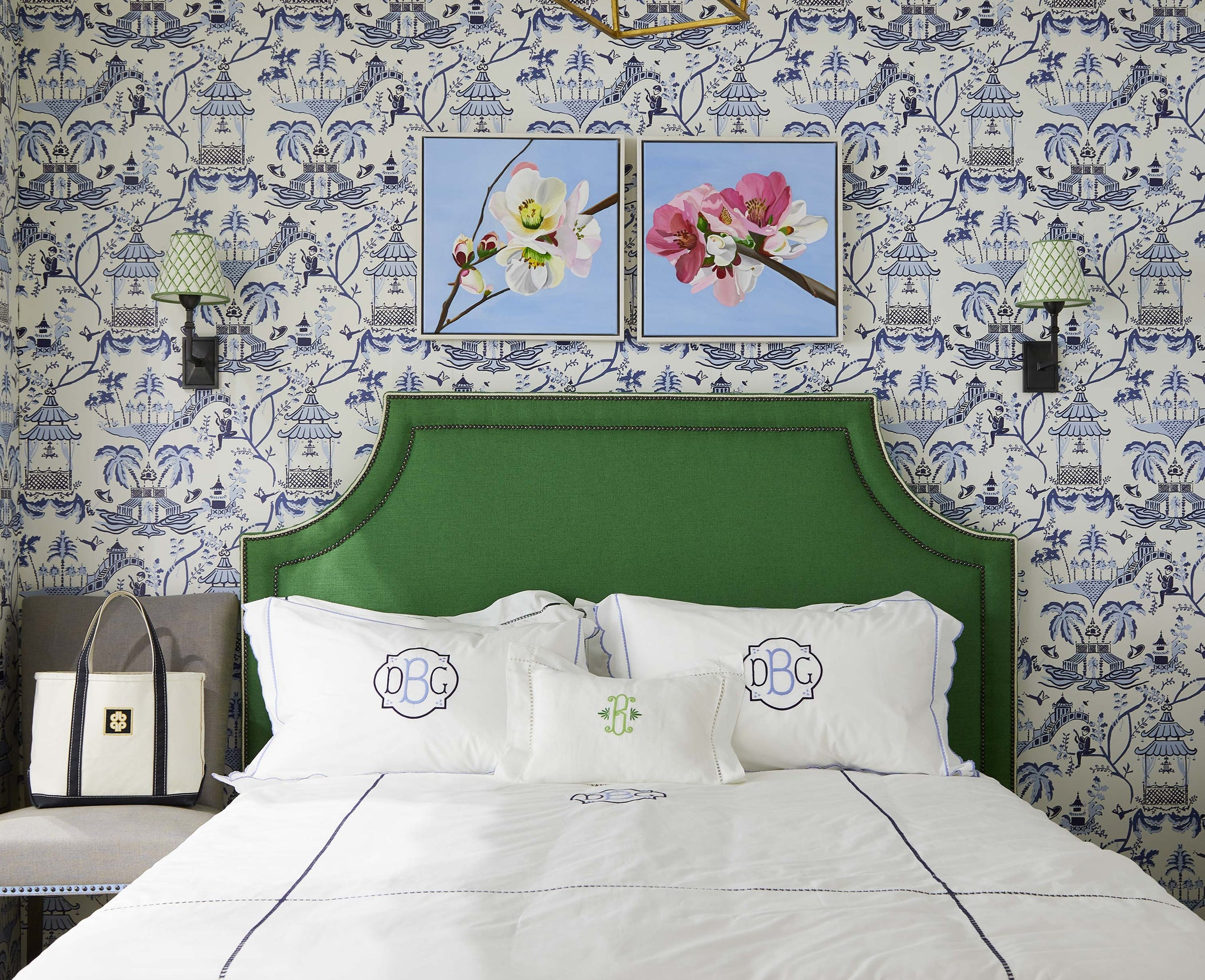 Diane Bergeron Bed Linens and Wallpaper