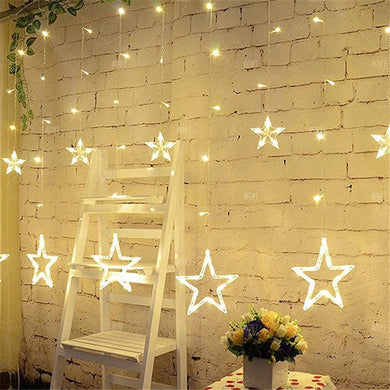 2M Romantic fairy star led curtain string light EU 220V - My MAIDEN