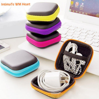 Storage bag case for earphone eva/ headphone/ cable/ earbuds