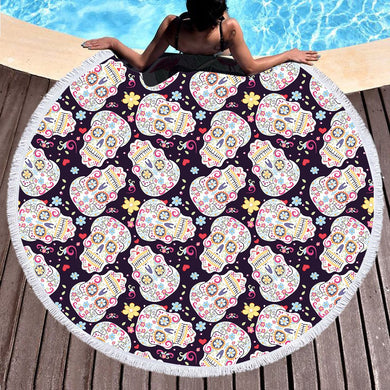 Beach towel, boho swimwear bathing  blanket - My MAIDEN
