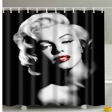 Waterproof shower curtain, Marilyn