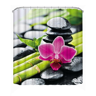 Bathroom /shower curtain, waterpoof, polyester 3D print curtain - My MAIDEN