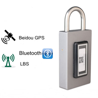 Rechargeable and GPS Bluetooth Smart Lock Waterproof Keyless Remote Control Locker Outdoor Anti Theft PadLock