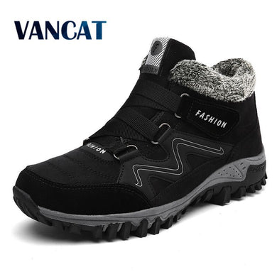Men Boots Winter With Fur size 39-46 - My MAIDEN