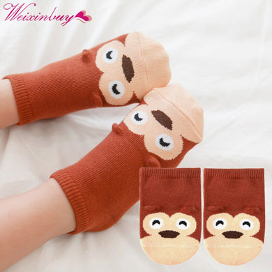 Small infant socks little ears cotton