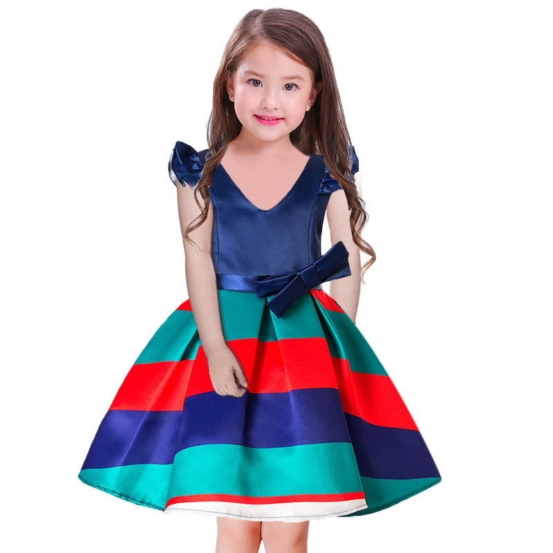 5124b603434b 2018 New Christmas Party Dress For Girls 4-10 Years - Online Baby Zone