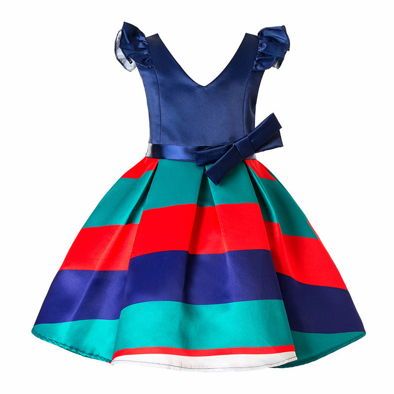 88329b6d78 2018 New Christmas Party Dress For Girls 4-10 Years - Online Baby Zone