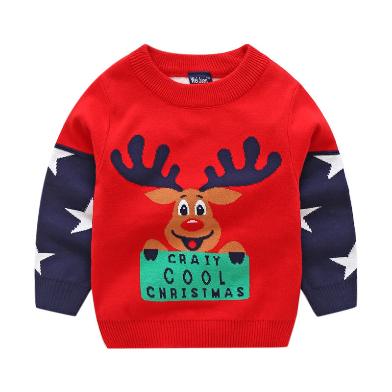 4d1e5bf32e8a Boys Knitted Christmas Winter Sweater – Online Baby Zone