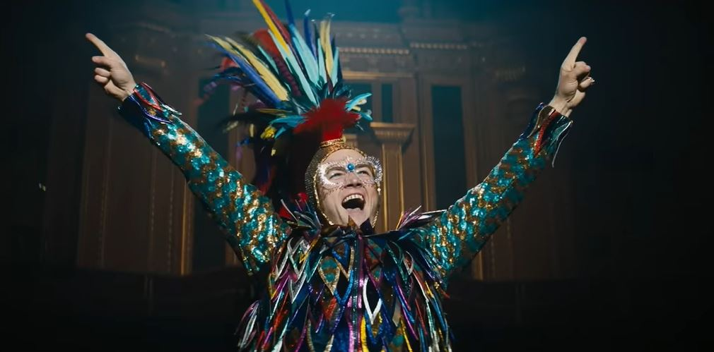Taron Egerton stars as Elton John in Rocketman