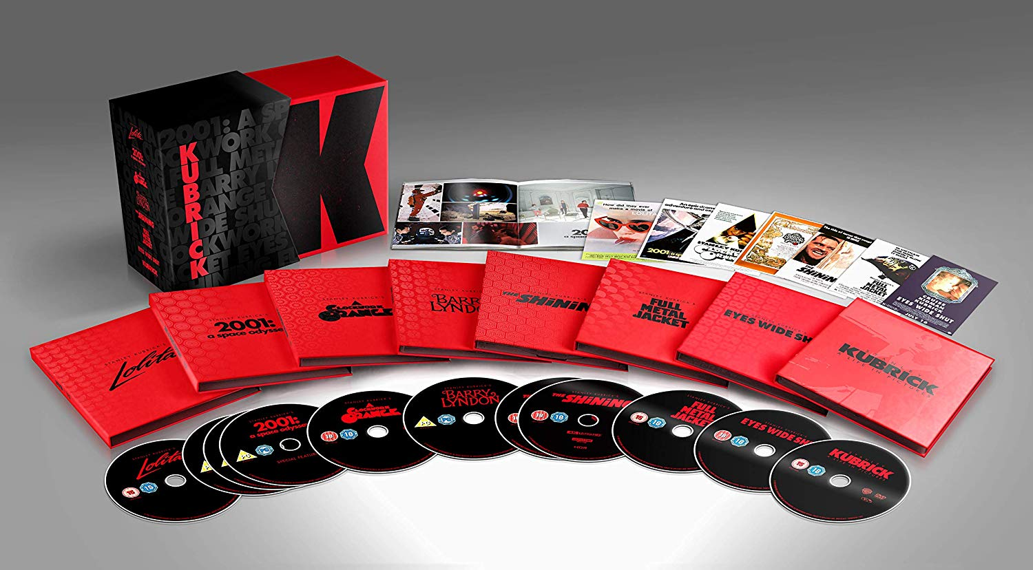 Stanley Kubrick Blu Ray collection review the shining clockwork orange Lolita Full Metal Jacket 2001 a space odyssey eyes wide shut