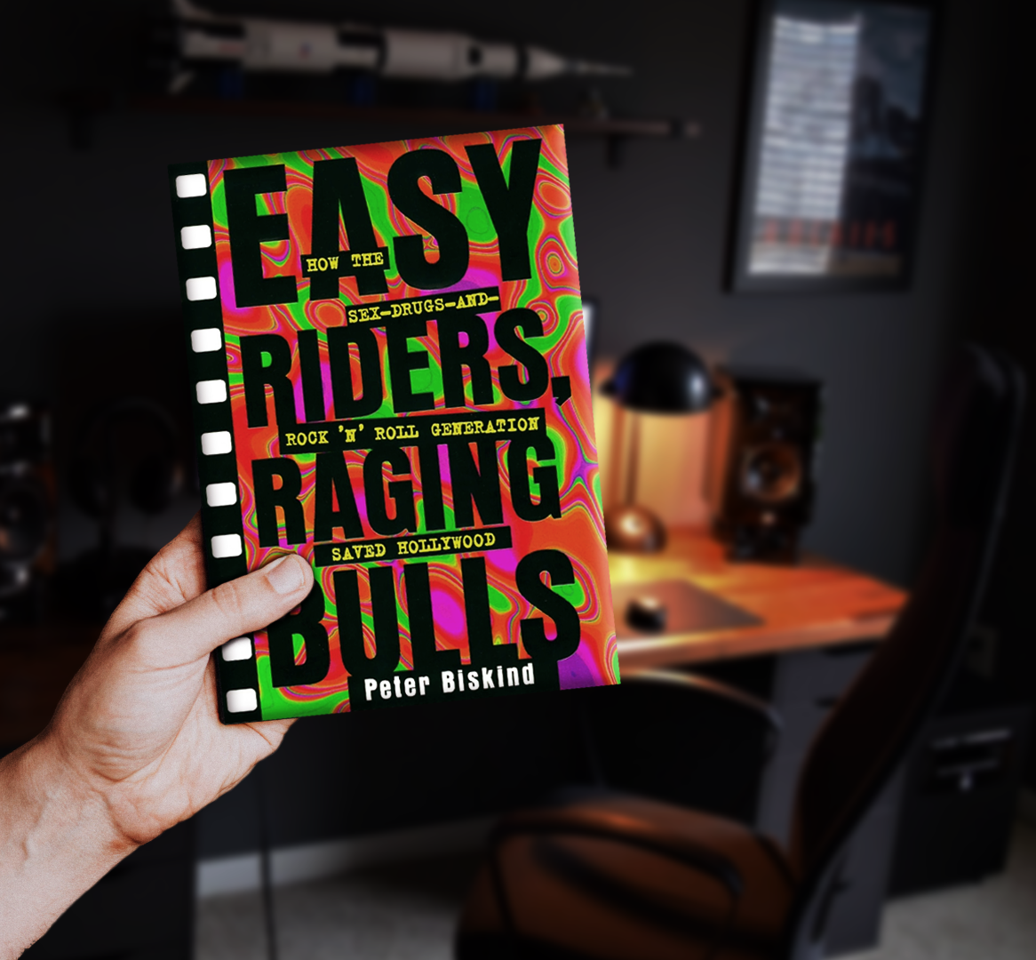 easy rider raging bull book scorsese spielberg george lucas star wars the godfathter cinema film book hollywood movie brats