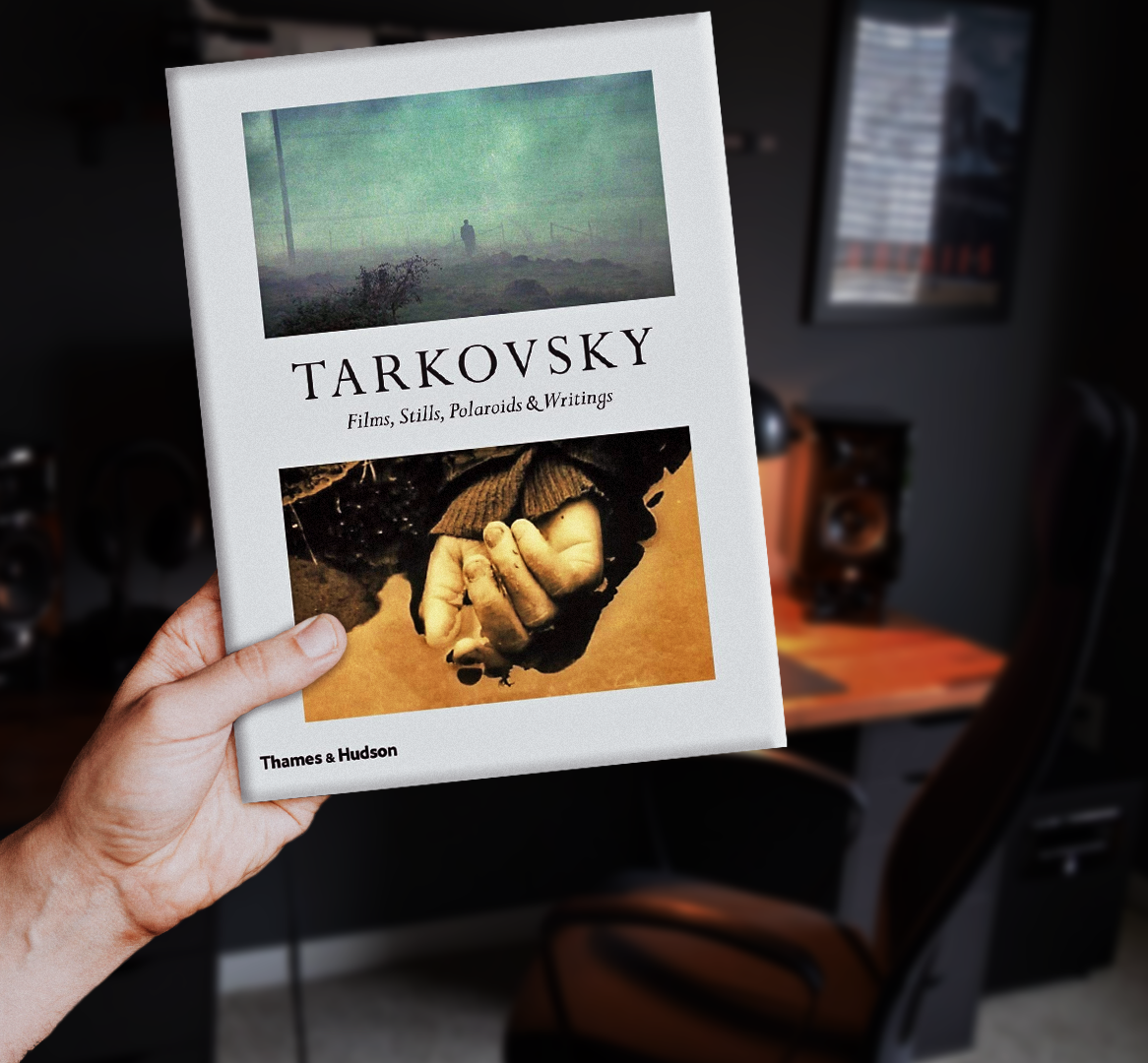 andrei tarkovsky book soviet cinema filmmaking photography coffee table book cinematography book