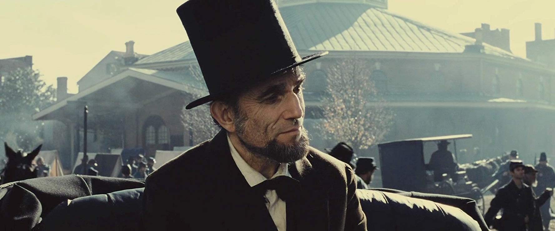 Daniel Day-Lewis stars as Abraham Lincoln in Steven Spielberg's Lincoln