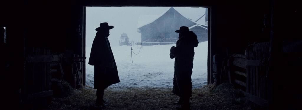 Samuel L Jackson and Damian Bichir star in Quentin Tarantino's The Hateful Eight