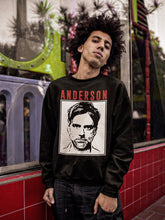 Load image into Gallery viewer, Anderson Sweatshirt | Black - Masters of Cinema Clothing
