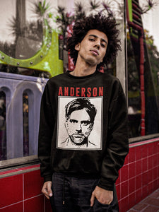 Anderson Sweatshirt | Black - Masters of Cinema Clothing