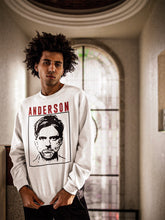 Load image into Gallery viewer, Anderson Sweatshirt | White - Masters of Cinema Clothing