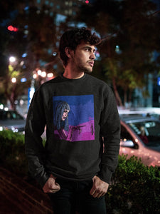 Neon Joi Sweatshirt | Black - Masters of Cinema Clothing