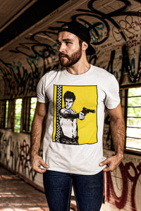 You Talking to Me? T-Shirt | White - Masters of Cinema Clothing