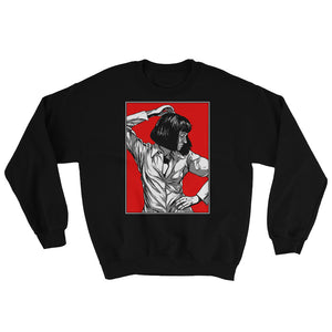 Mia Wallace Sweatshirt | Black - Masters of Cinema Clothing
