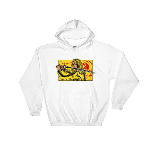 Front Bride Hoodie | White - Masters of Cinema Clothing