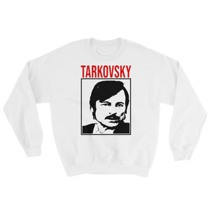 Tarkovsky Design Sweatshirt (White) - Masters of Cinema Clothing