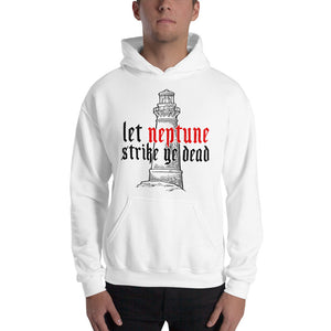 The Lighthouse Neptune | Hoodie | White - Masters of Movies