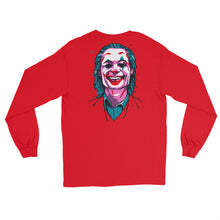 Load image into Gallery viewer, Joker Emblem Long Sleeve T-Shirt (Limited Edition Red) - Masters of Cinema Clothing