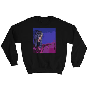 Neon Joi Sweatshirt | Black - Masters of Movies