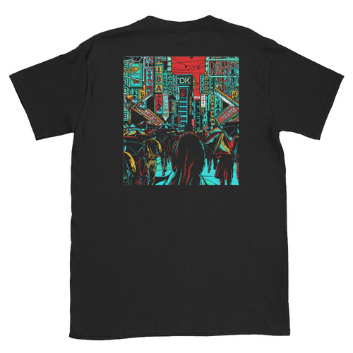 Tears in the Rain T-Shirt | Black - Masters of Movies